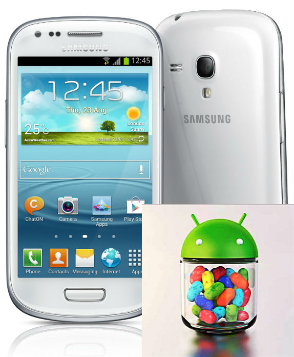 Jelly Bean Update Samsung Galaxy S3 Mini
