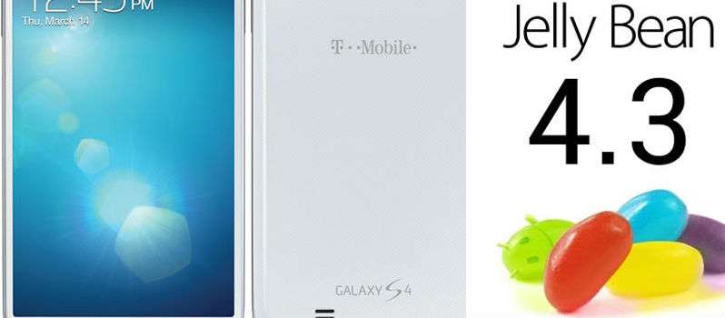 Android 4.3 Software update for T-Mobile Samsung Galaxy S4