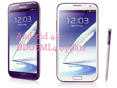 Official Android 4.3 Firmware Update for Galaxy Note 2