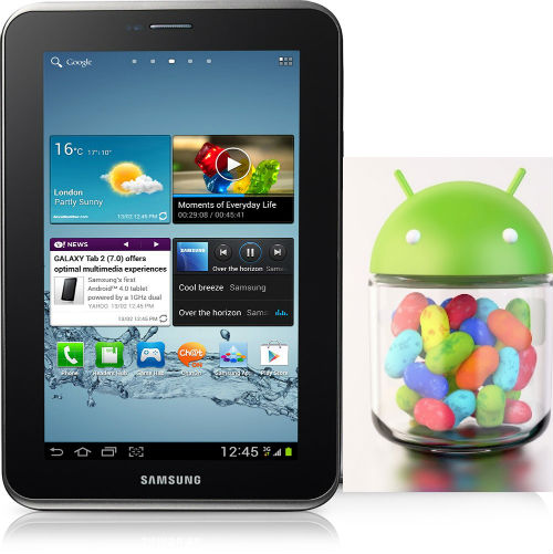 Official Android 4.2.2 Update for Galaxy Tab 2 7.0