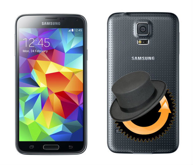 CWM Recovery for Galaxy S5