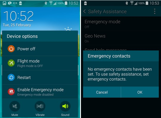 how to add numbers on samsung s5