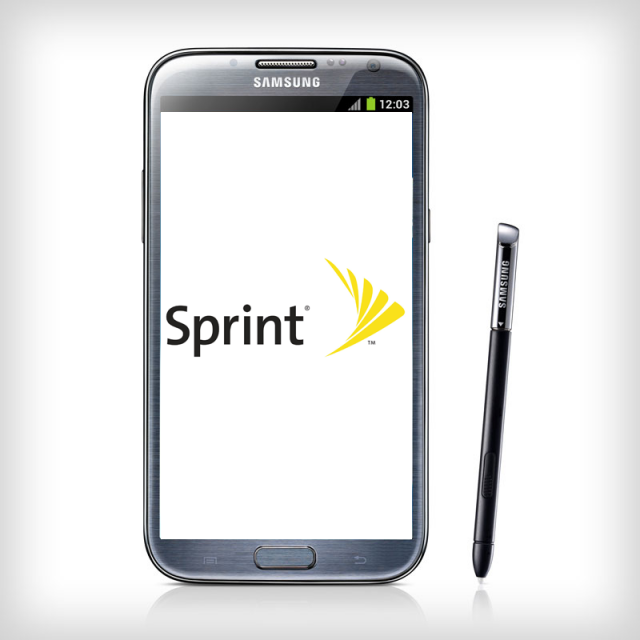 Sprint Galaxy Note 2