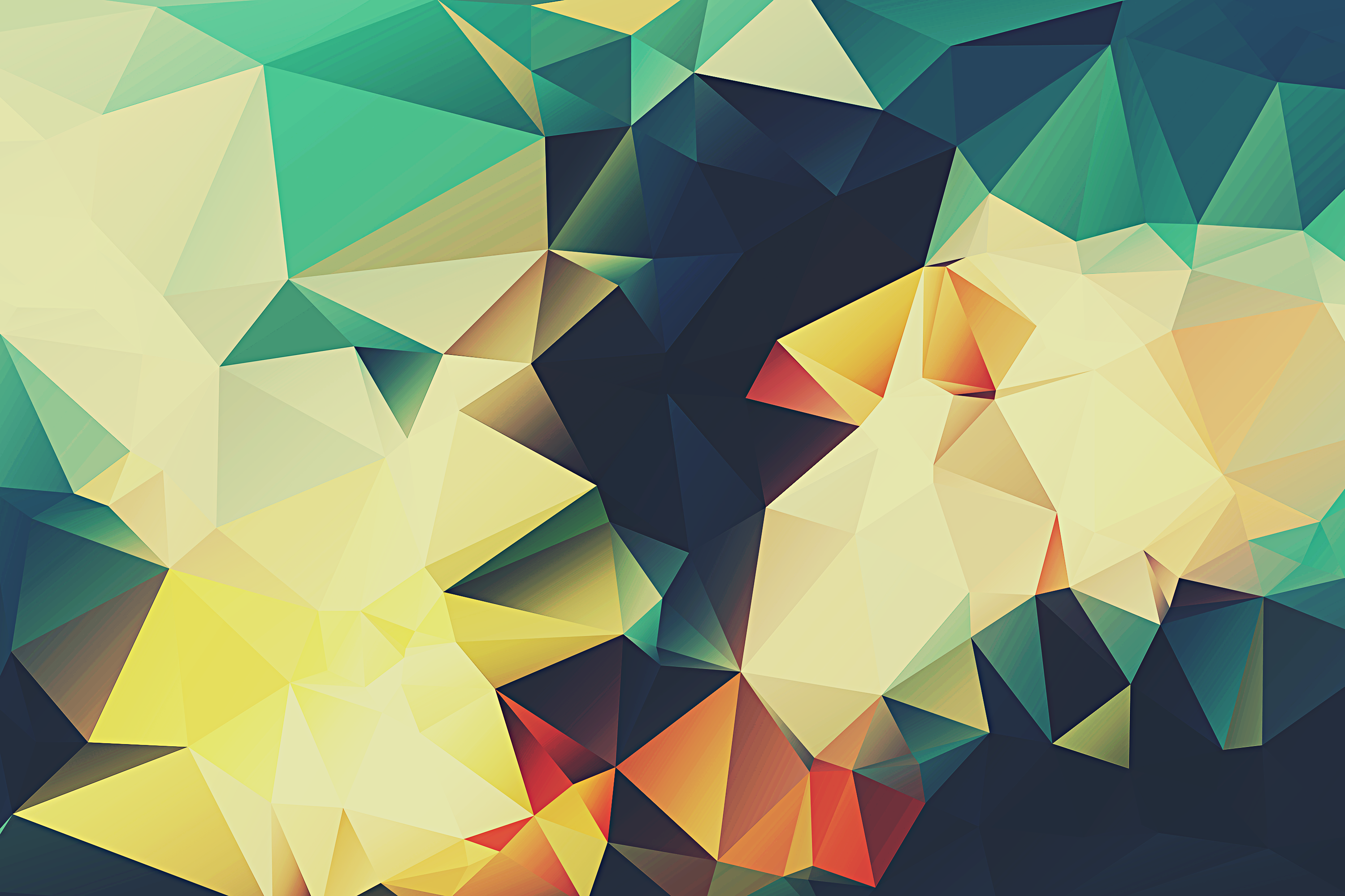Android Wallpapers of the Week13 Polygon Backgrounds
