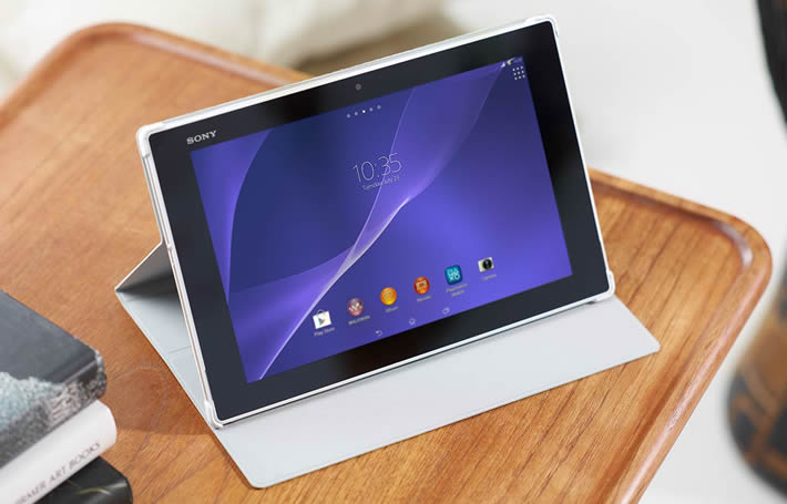 verizon s sony xperia z2 tablet now available for pre order. Black Bedroom Furniture Sets. Home Design Ideas