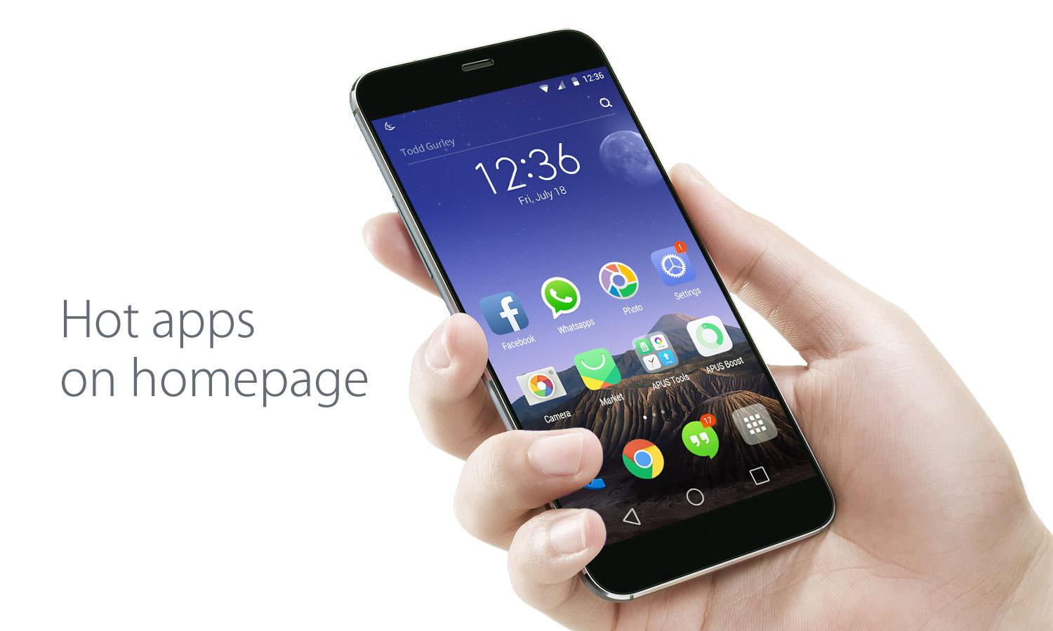 Apus launcher apk – Download free for your Android