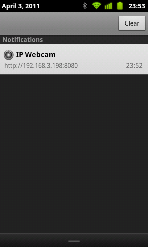 IP Webcam App for Android Phones and Tablet devices