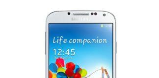 White Samsung Galaxy S4