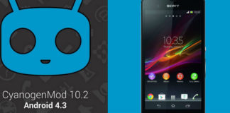 CyanogenMod 10.2 Custom ROM for Sony Xperia Z