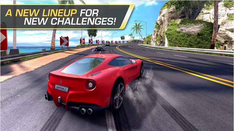 Top Android Racing Game: Asphalt Heat