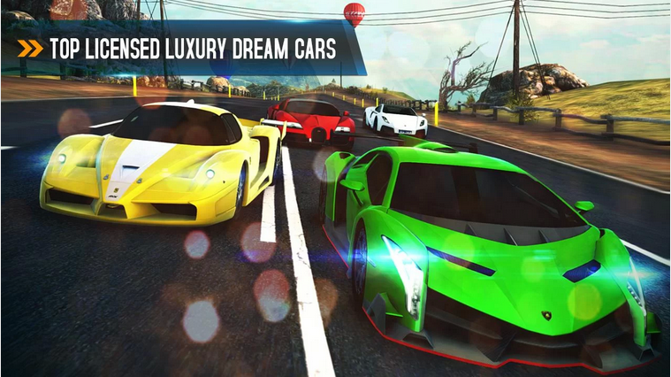 Best Android Racing Game: Asphalt 8 Airborne