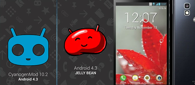 CyanogenMod 10.2 Custom Build for LG Optimus G E975