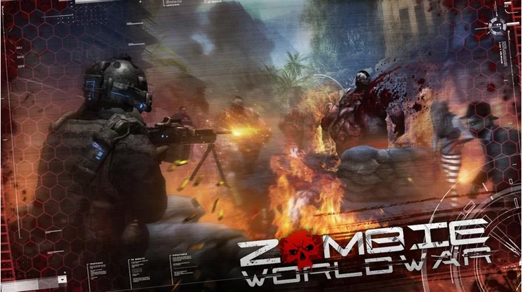 Android Action Game - Zombie World War