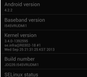 Update Verizon Galaxy S4 I545 to Andriod 4.2.2 Jelly Bean Firmware
