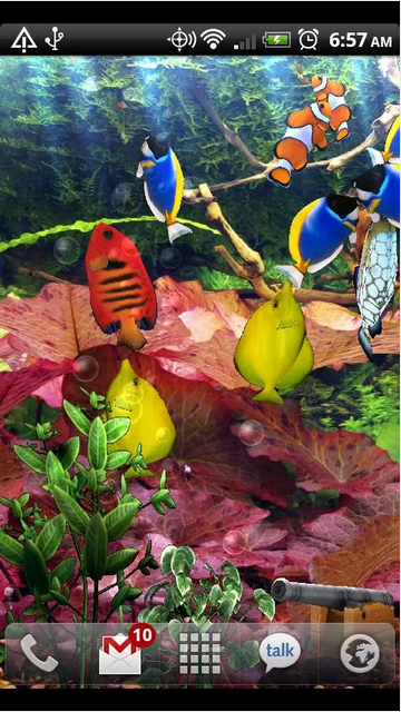 Live Aquarium Wallpaper for Android