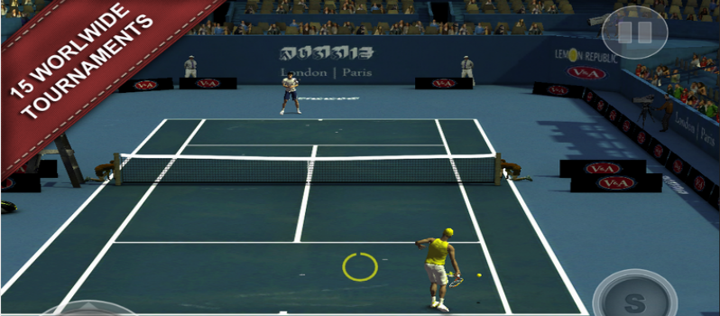 Cross Court Tennis 2 Android Game
