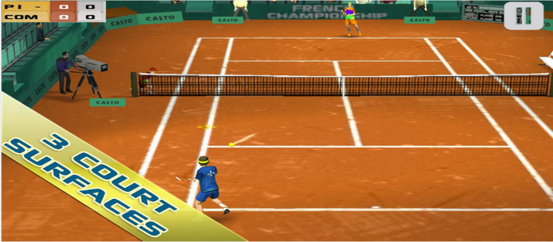 Cross Court Tennis Android Game