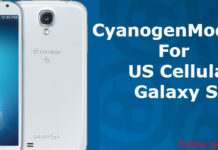 CyanogenMod 10.2 For Samsung Galaxy S4 (US Cellular)