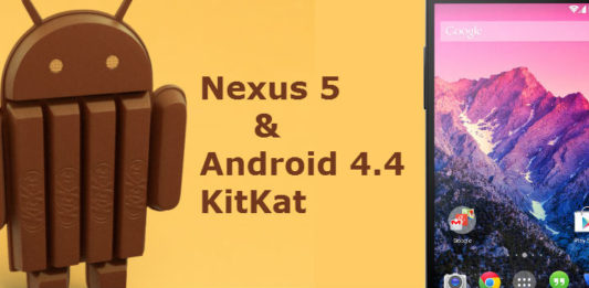 Nexus 5 and Android 4.4 KitKat Officially released by Google