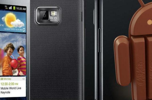 Android 4.4 KitKat Custom ROM for Galaxy S2 GT-I9200G