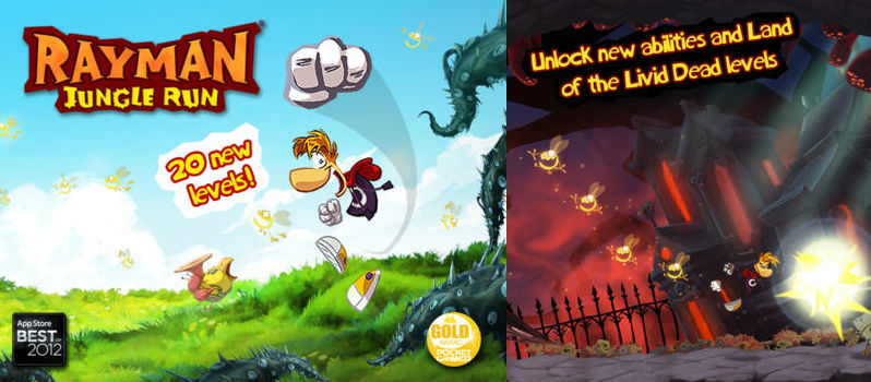 Rayman Jungle free Running Game for Android
