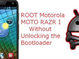 Root Tutorial For Motorola RAZR I
