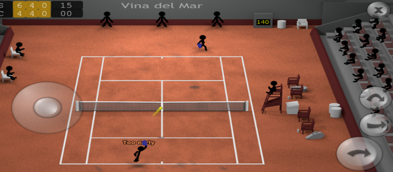 Stickman Tennis App for Android