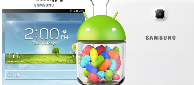 Android 4.2.2 Jelly Bean Update for Samsung Galaxy Tab 3 7.0