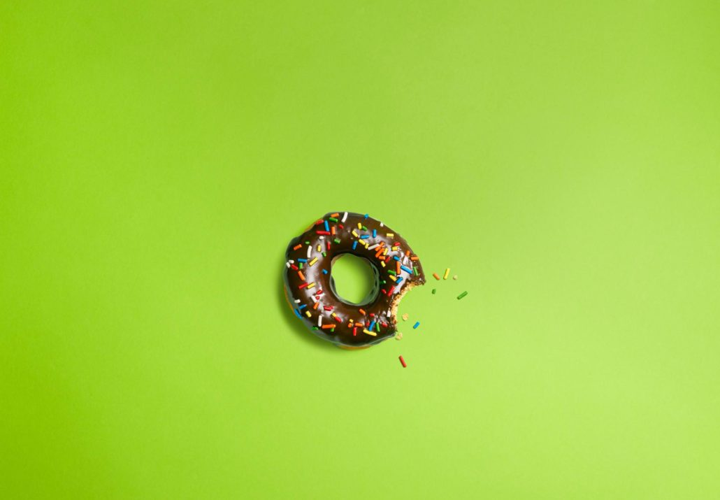 Android Donut 1.6 Wallpaper