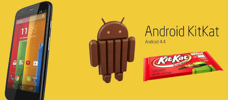 Moto G gets Android 4.4.2 KitKat Update