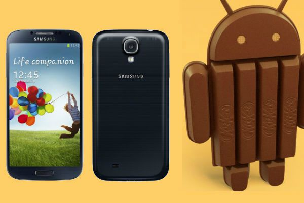 KitKat Update for Galaxy S4