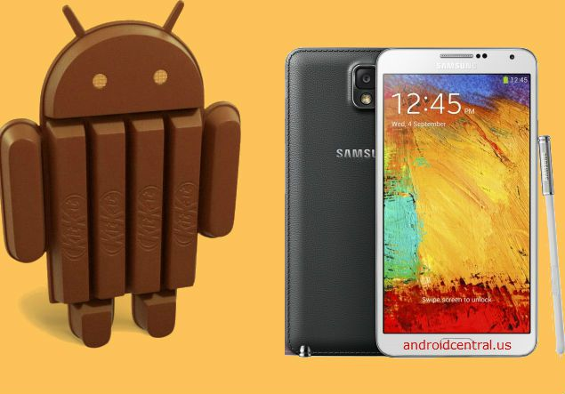 Update Galaxy Note 3 to official Android 4 4 2 N900XXUDNA6