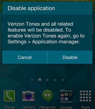 Disable-Application-GalaxyS5