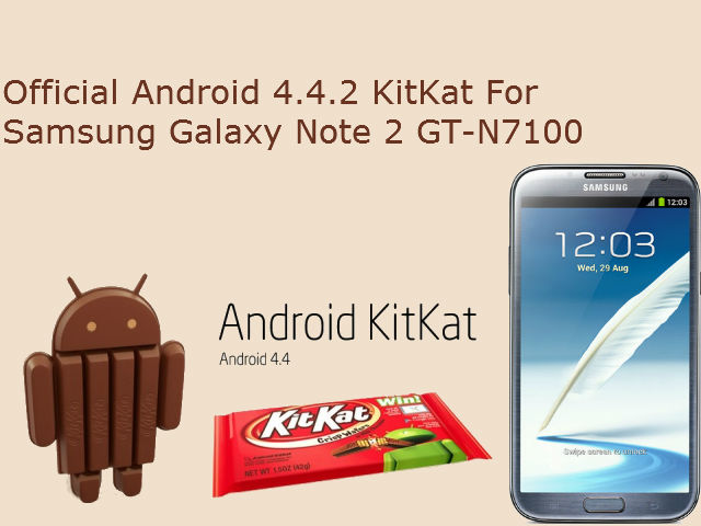 Galaxy Note 2 Official KitKat Update