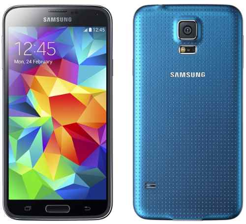 blue galaxy s5