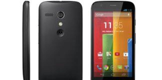 Motorola Moto E black color