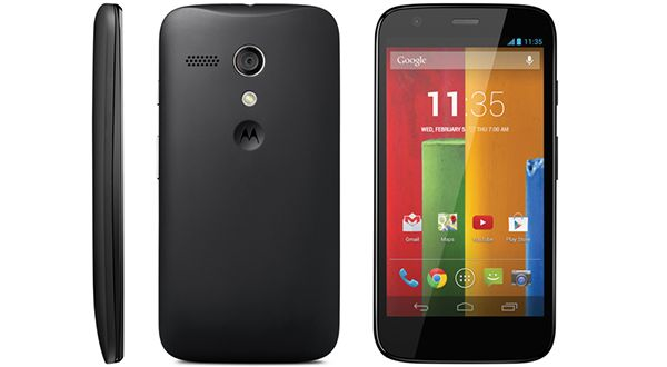 Motorola Moto E black color