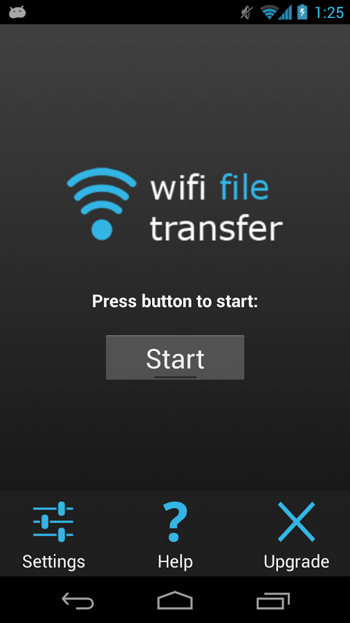 WiFi-File-Transferring-for-Android