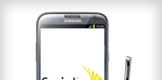 Sprint Galaxy Note 2