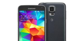 Black AT&T Galaxy S5