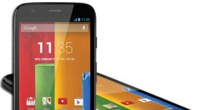 Motorola Moto G in Black Color